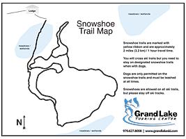 Snowshoe Trail Map